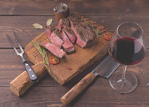 Summer Wine recommendations for Red Meat